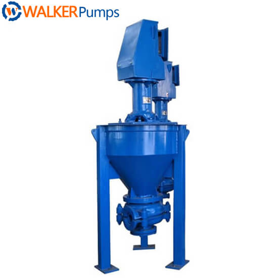 4RV-AF Vertical Froth Slurry Pump walker