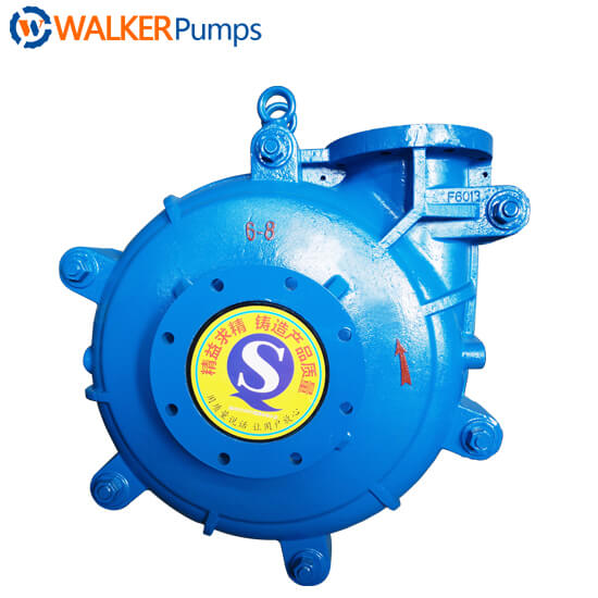8x6e ahr rubber slurry pumps