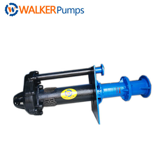 SPR Rubber Lined Vertical Slurry Pump