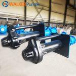 SPR Rubber Lined Vertical Slurry Pumps