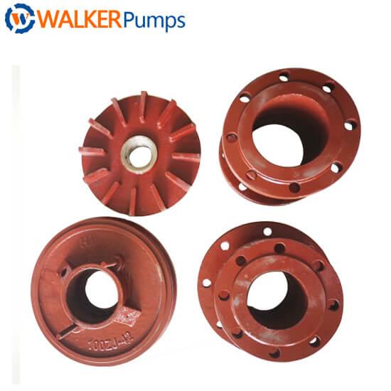 Slurry Pump Frame Plate Liner Insert walker china