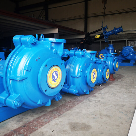 ah slurry pumps manufacturers