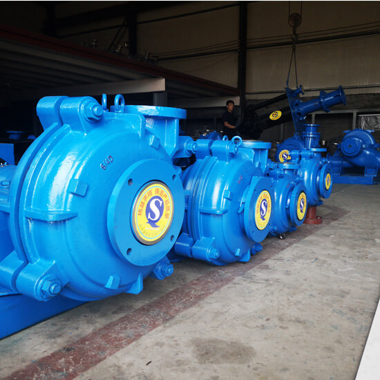 ahr rubber slurry pump