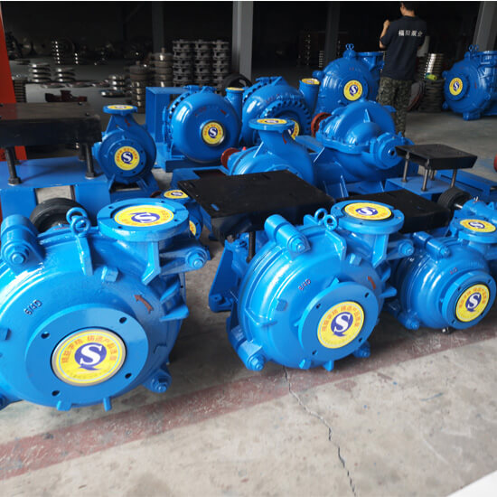 ahr rubber slurry pump workshop