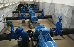 Horizontal Centrifugal Pumps for Water Supply Company in Philippines