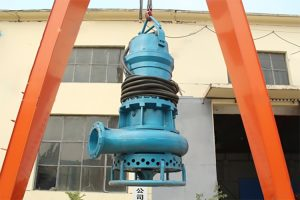 high-flow submersible mud pump for rivers