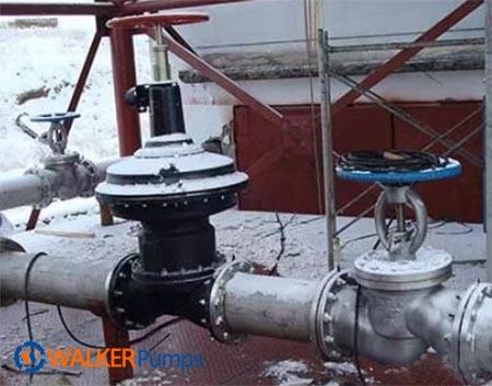 pump valve close incompletely