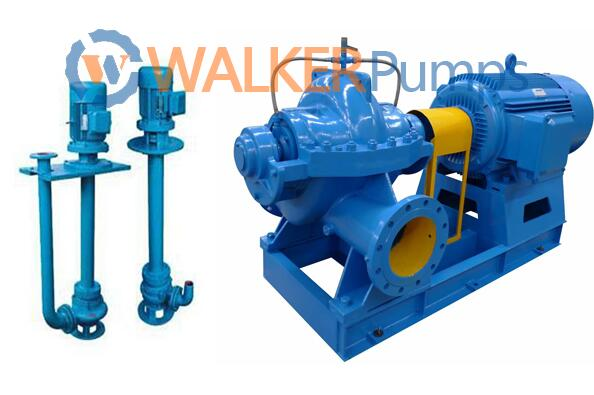vertical pump and horizontal pumps