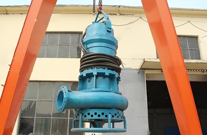 submersible mud pump for rivers