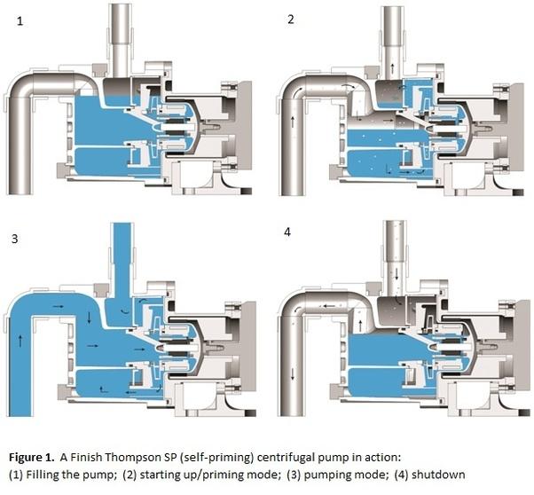 Self-Priming Centrifugal Pump Work Progress